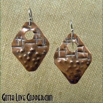 Upside-Down Ice Cream Cone Earrings