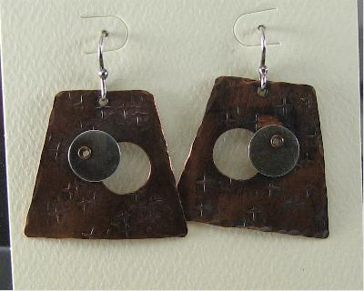 Eclipse in the Temple Earrings