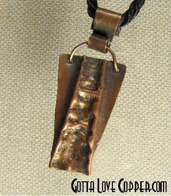 Baby Wedge Pendant