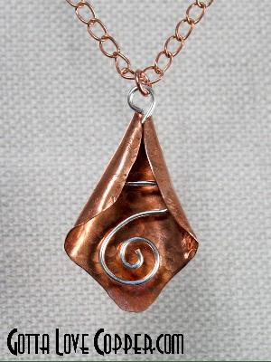 Pendant with Sterling Accent