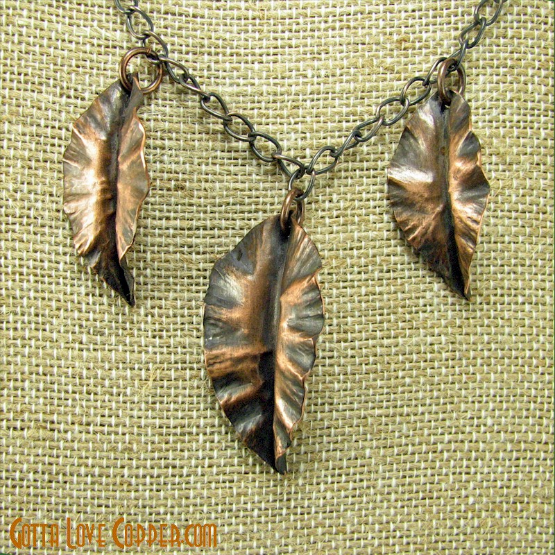Three Leaves Pendant